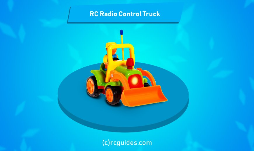 Torch RC Truck for toddlers