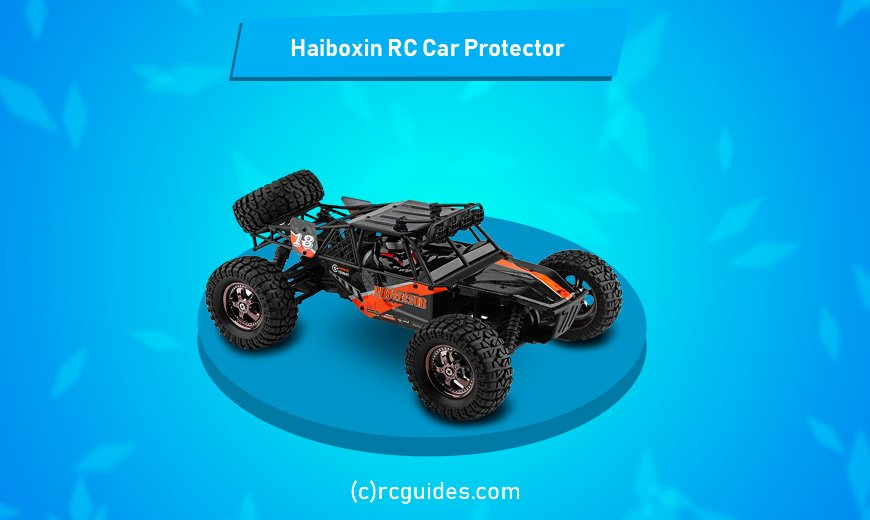 Haiboxin-rc-car-protector for 4-5 years