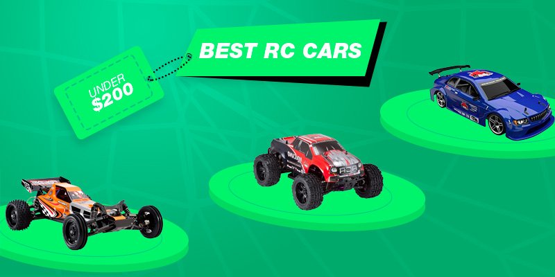 List with best rc cars under 200.