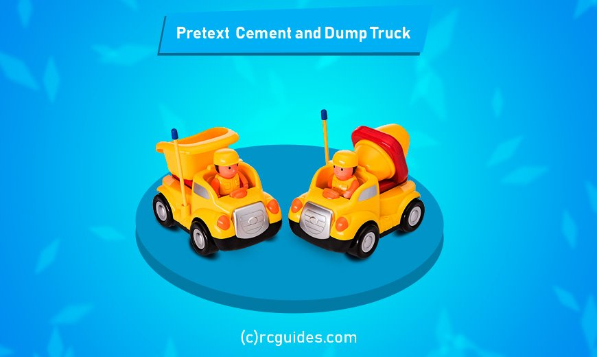 cement and dump truck for toddlers rguides