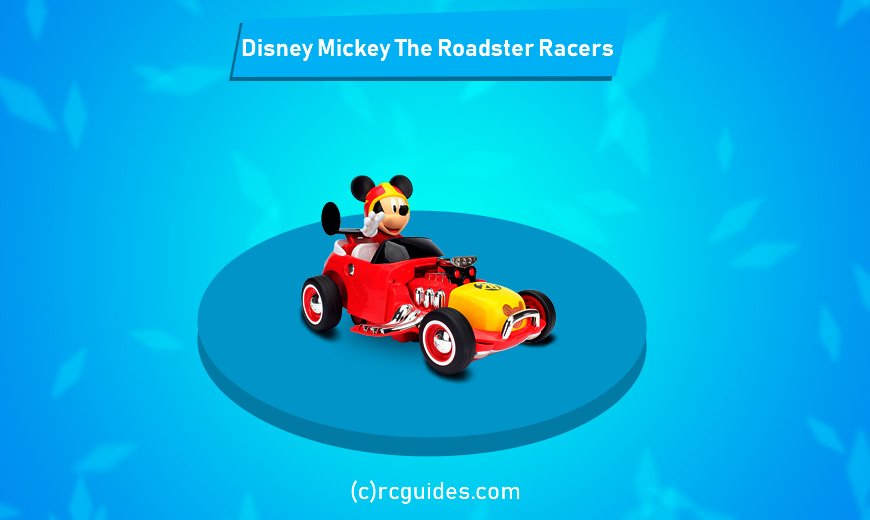 disney mickey rc car for toddlers