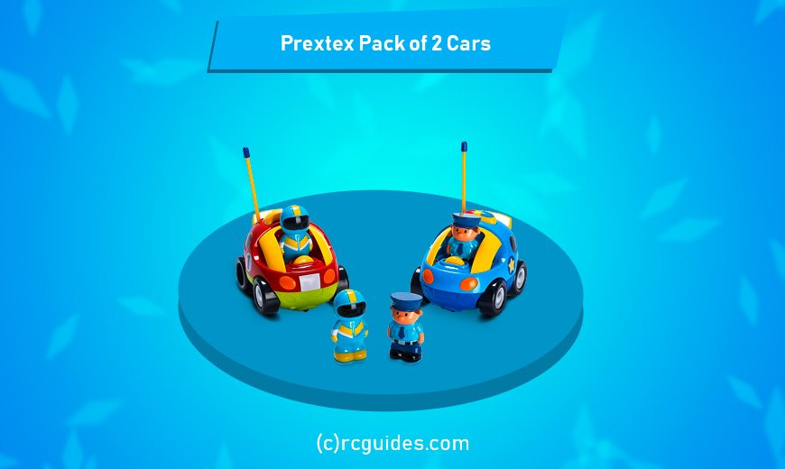 Prextex pack of 2 cars for 2-3 years