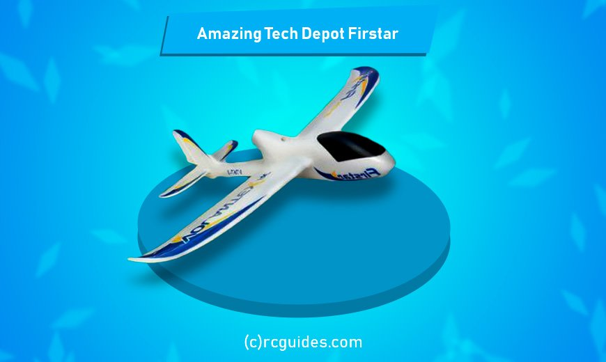 Amazing Tech Depot Firstar rc plane with camera