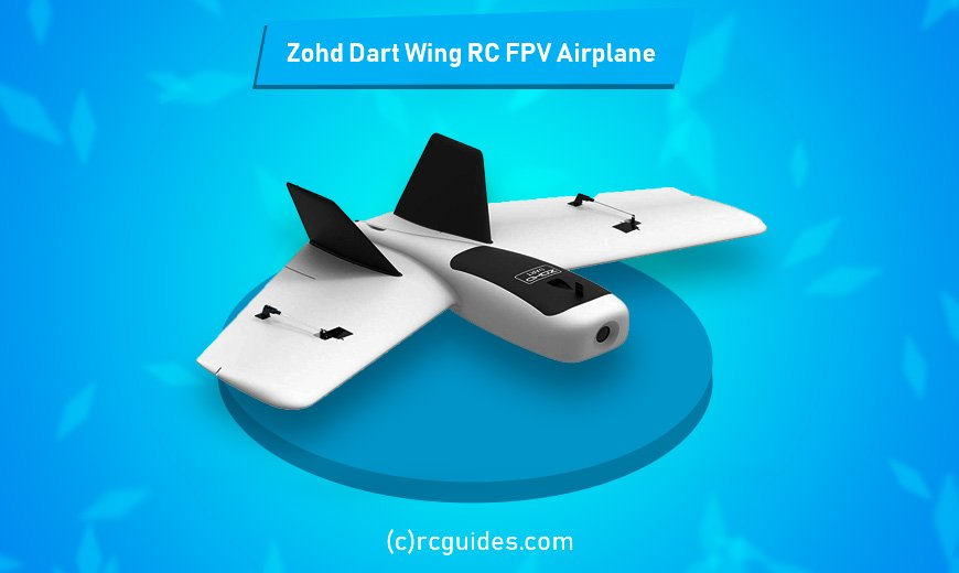 Zond dart wing rc plane with camera