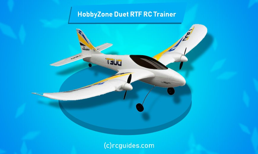 HobbyZone-Duet-RTF-RC-Trainer cheap rc plane