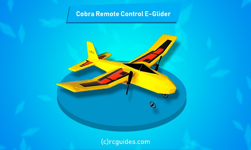 cobra remote rc e-glider cheap rc plane