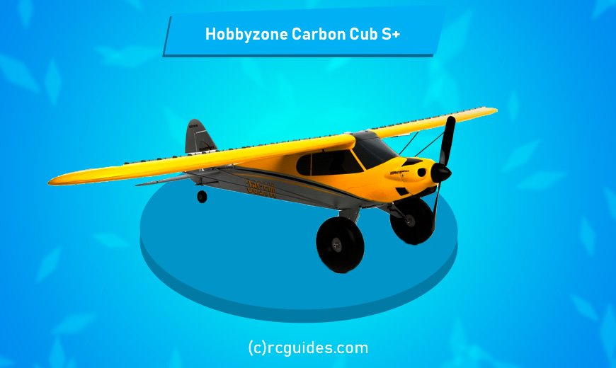 hobbyzone carbon cub s rc plane for beginners.