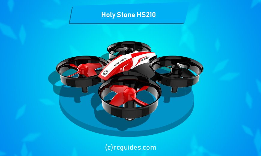 holy stone hs210 qudrocopter with led lights.