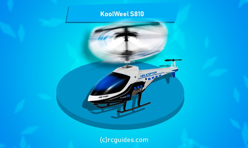 KoolWeel S810 RC Helicopter for beginners.