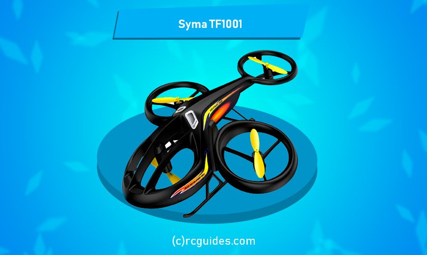 Syma TF1001 RC helicopter for beginners.
