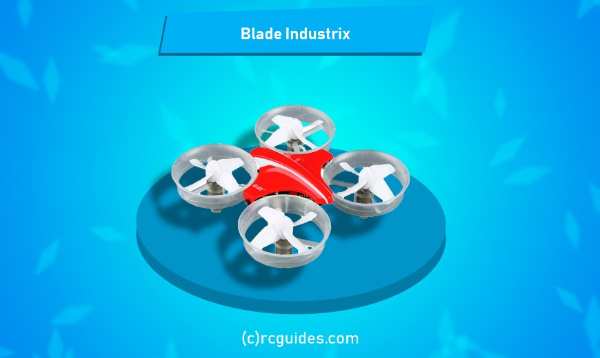 Blade industrix little red qudrocopter