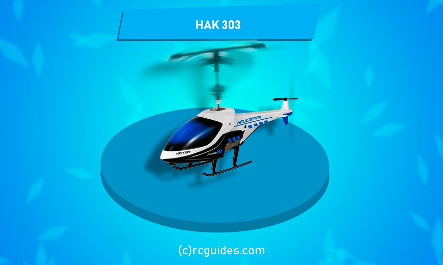 hak 303 blue white helicopter