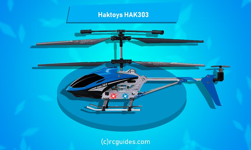 HAK-303 RC helicopter for beginners