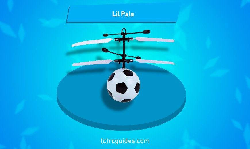 lilpals rc football with fan