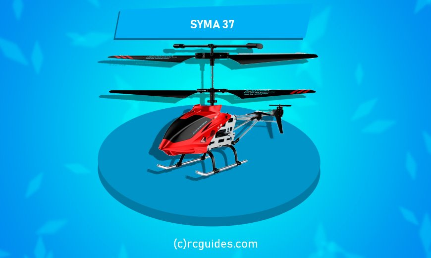 Syma 37 RC Helicopter