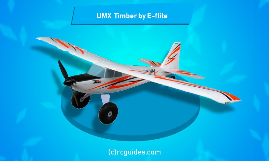 UMX Timber Foam RC plane.