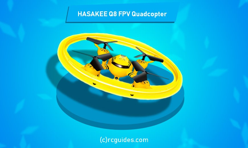 hasakee q8 fpv quadrocopter with camera and kid design.