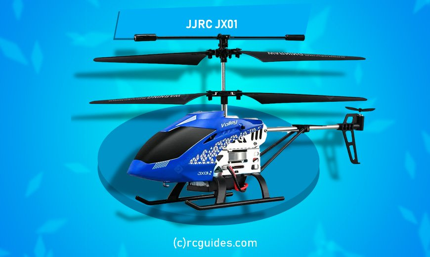 JJRC JX01 lightweight rc helicopter.
