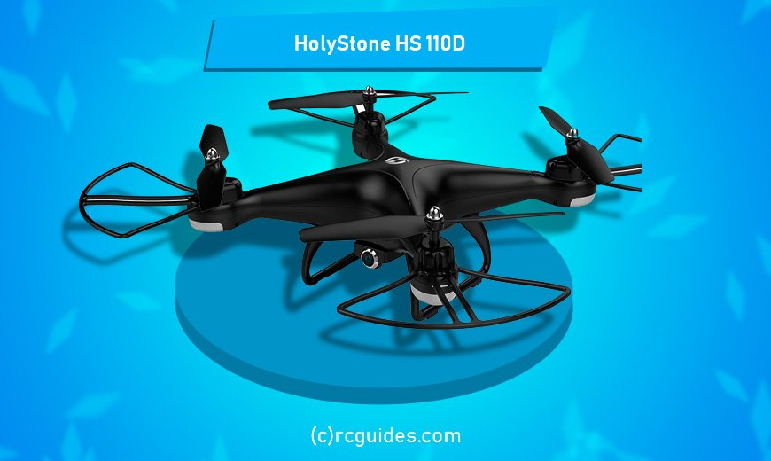 Holy Stone HS-110D fast fpv quadrocopter.