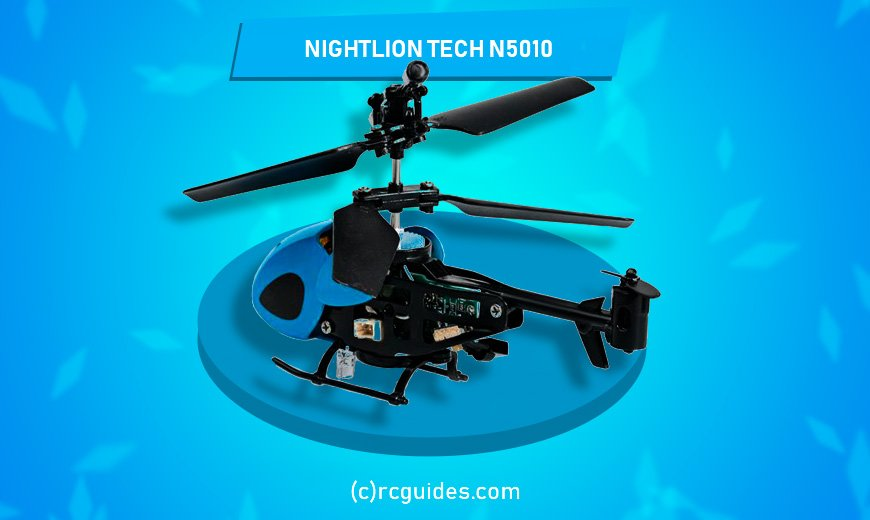 Night lion tiny rc helicopter.