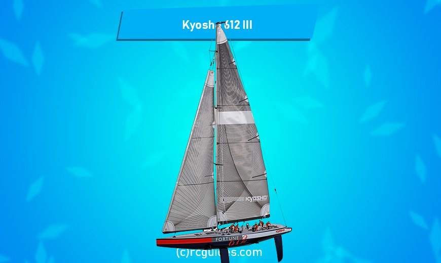 Kyosho 612 III really great rc sailboat.