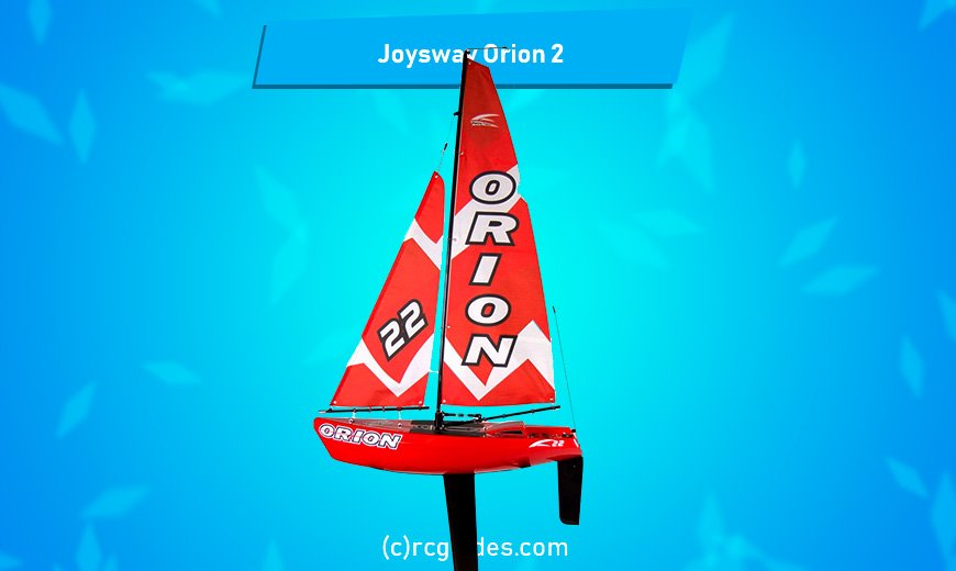 Joysway Orion 2 sailboat with remote control.