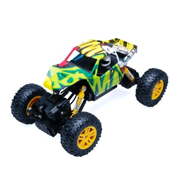 DOUBLE E 4WD Off-Road Remote Control Monster Truck - Blue review