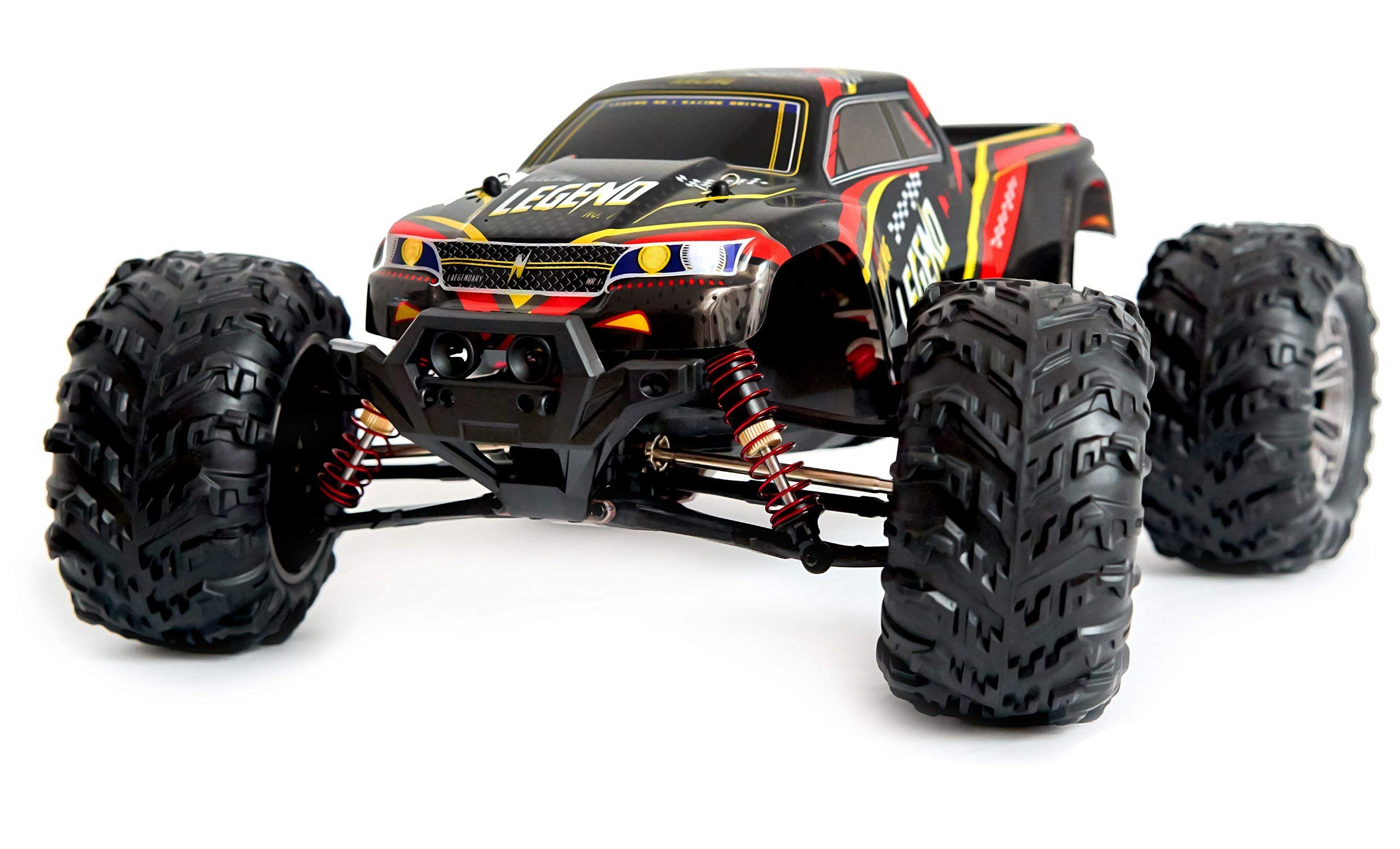 1:10 Scale Large RC Cars 48+ kmh Speed - Boys Remote Control Car 4x4 Off Road Monster Truck Electric review