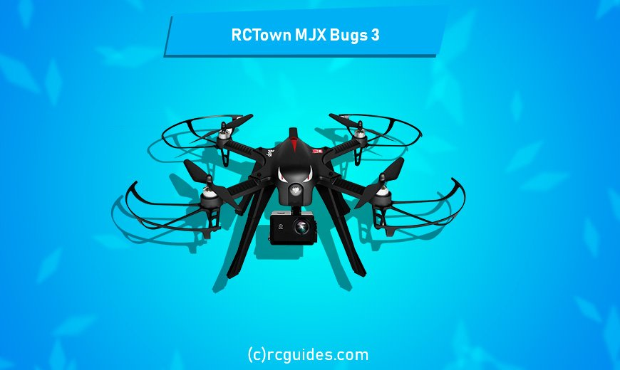 RCTown MJX Bugs 3 qudrocopter with camera.