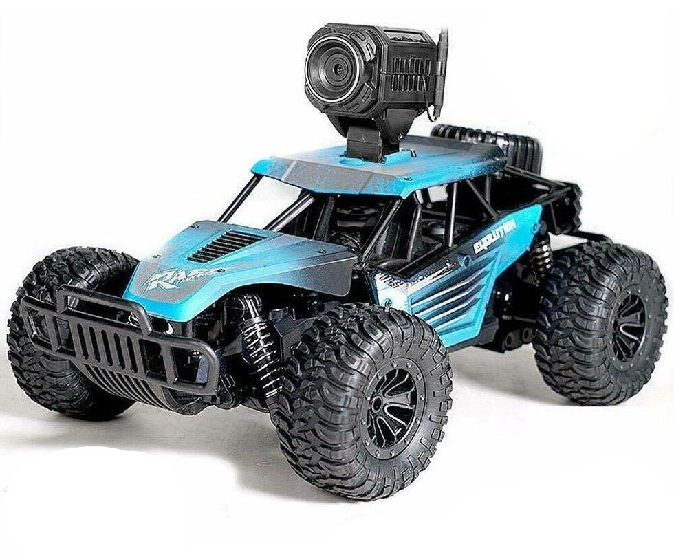 DeXop Newest 2.4Ghz 4WD Off-Road Remote Contorl Car with HD Camera