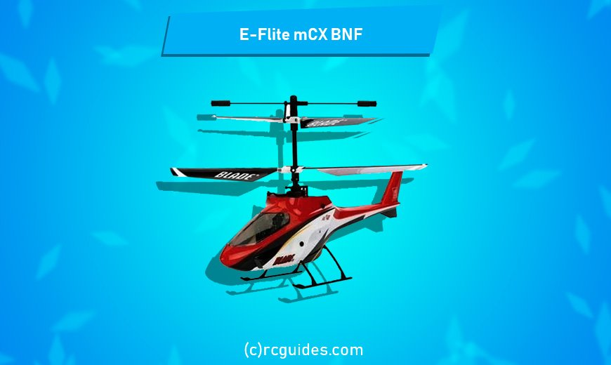E-Flite Blade MCX Bnf tiny and fast rc helicoter.