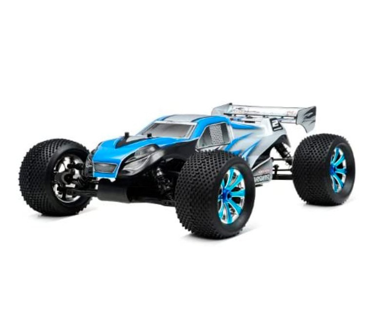Exceed RC Professional 1/8Th Scale 2.4 Ghz Nitro Powered Ready to Run .28 MadWarrior RTR Racing Edition (Alpha Blue) review