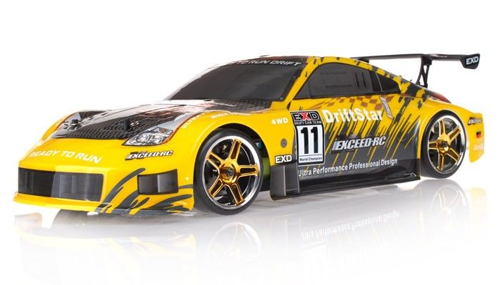 Exceed RC 1/10 2.4Ghz Electric DriftStar RTR Drift Car (Carbon Yellow) review