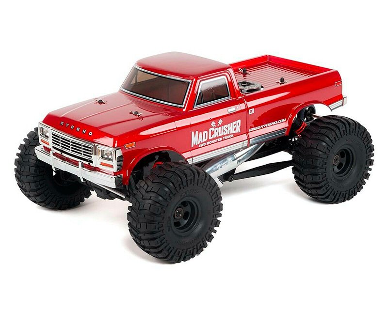 Kyosho Mad Crusher Nitro Monster Truck review