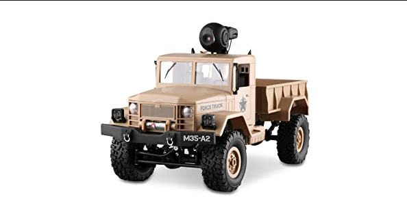 LBLA RC Military Truck with Wi-Fi HD Camera review