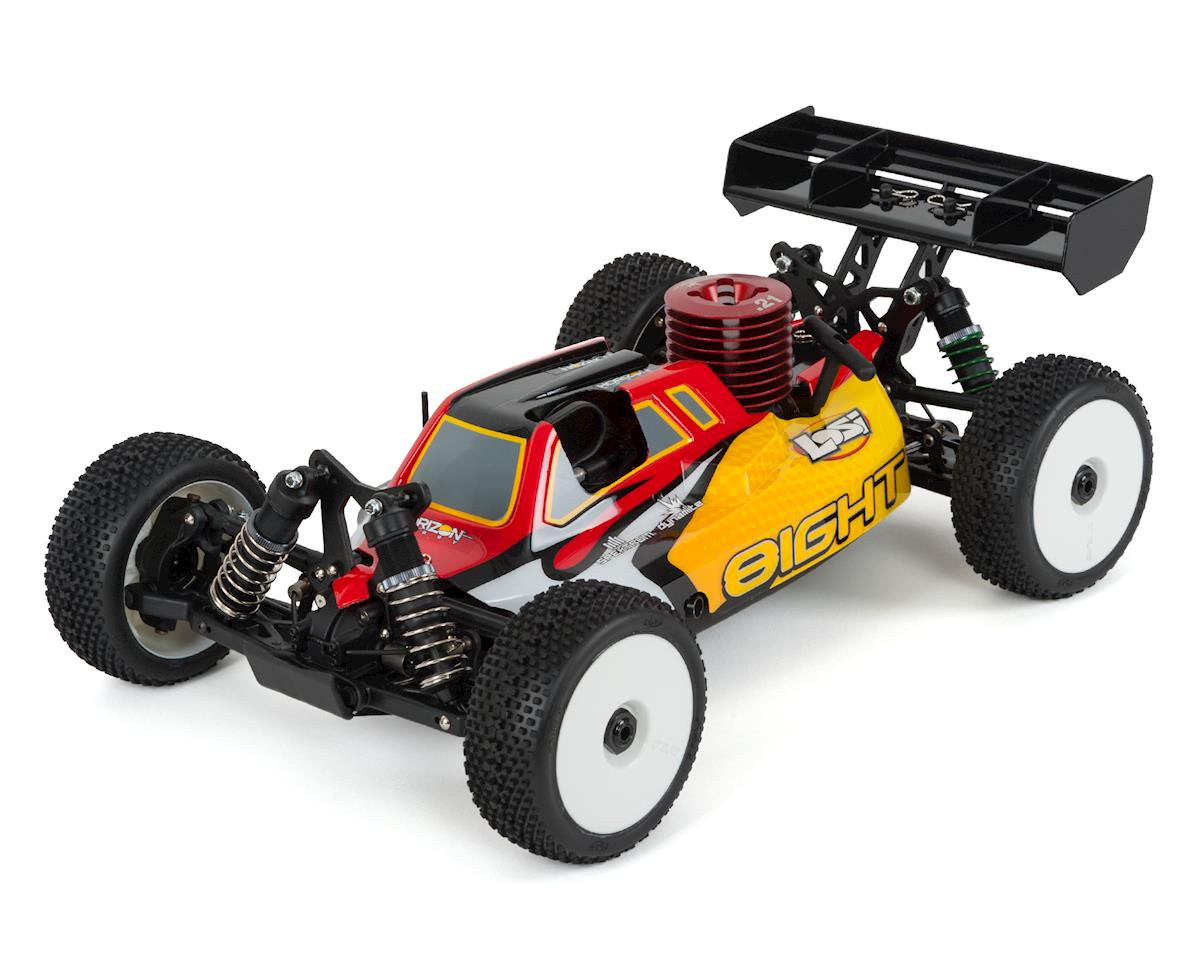 Losi 1/8 8IGHT 4WD Nitro RC Buggy RTR review