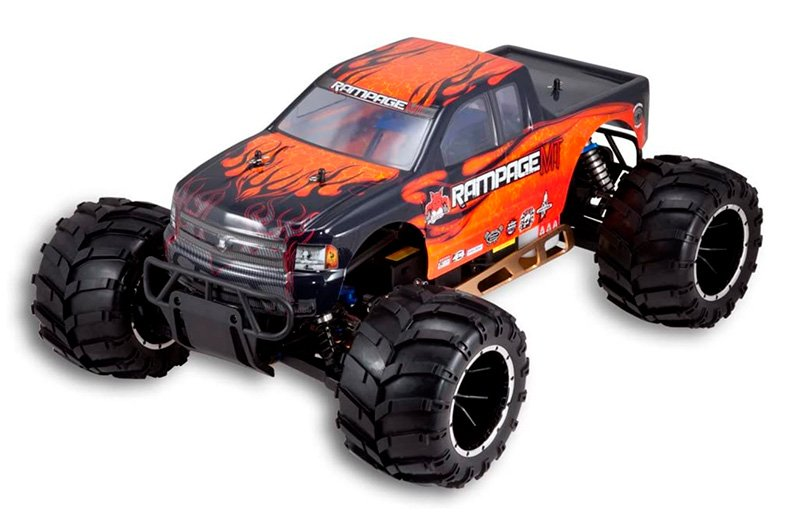 Rampage Mt V3 Gas Powered Monster Truck review