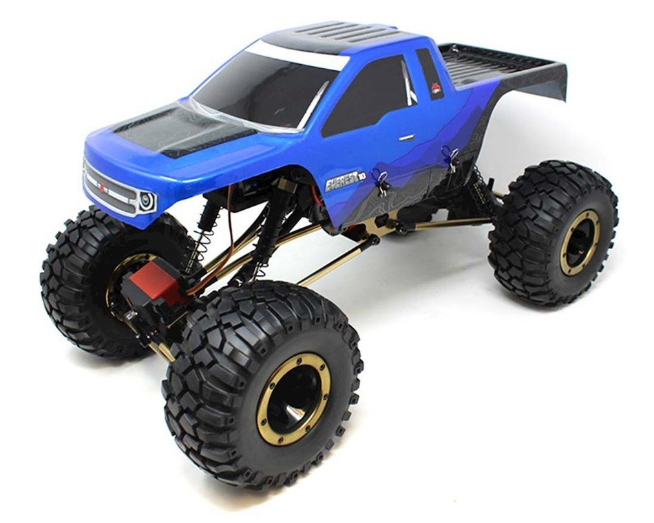 Redcat Racing Everest-10 Electric Rock Crawler with Waterproof Electronics, 2.4Ghz Radio Control (1/10 Scale), Blue/Black review