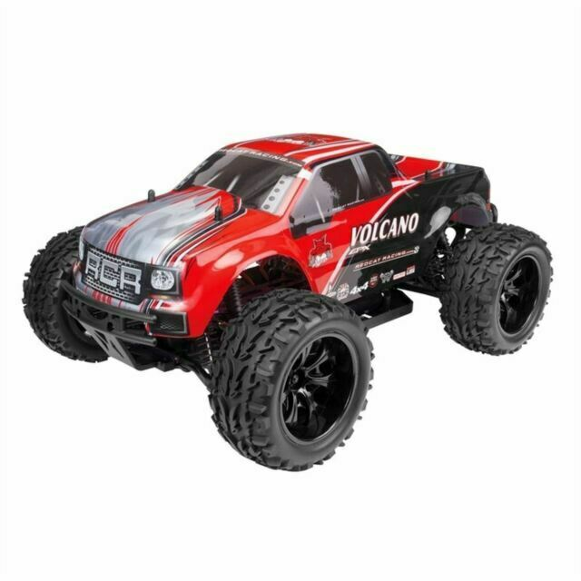 Redcat Racing Volcano EPX - 4WD Monster Truck - 1/10 Scale - RTR - Red review