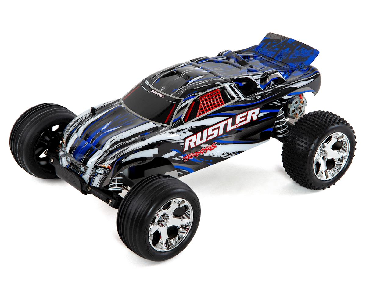 Traxxas 1/10 Scale Rustler 2WD Stadium Truck, Blue review