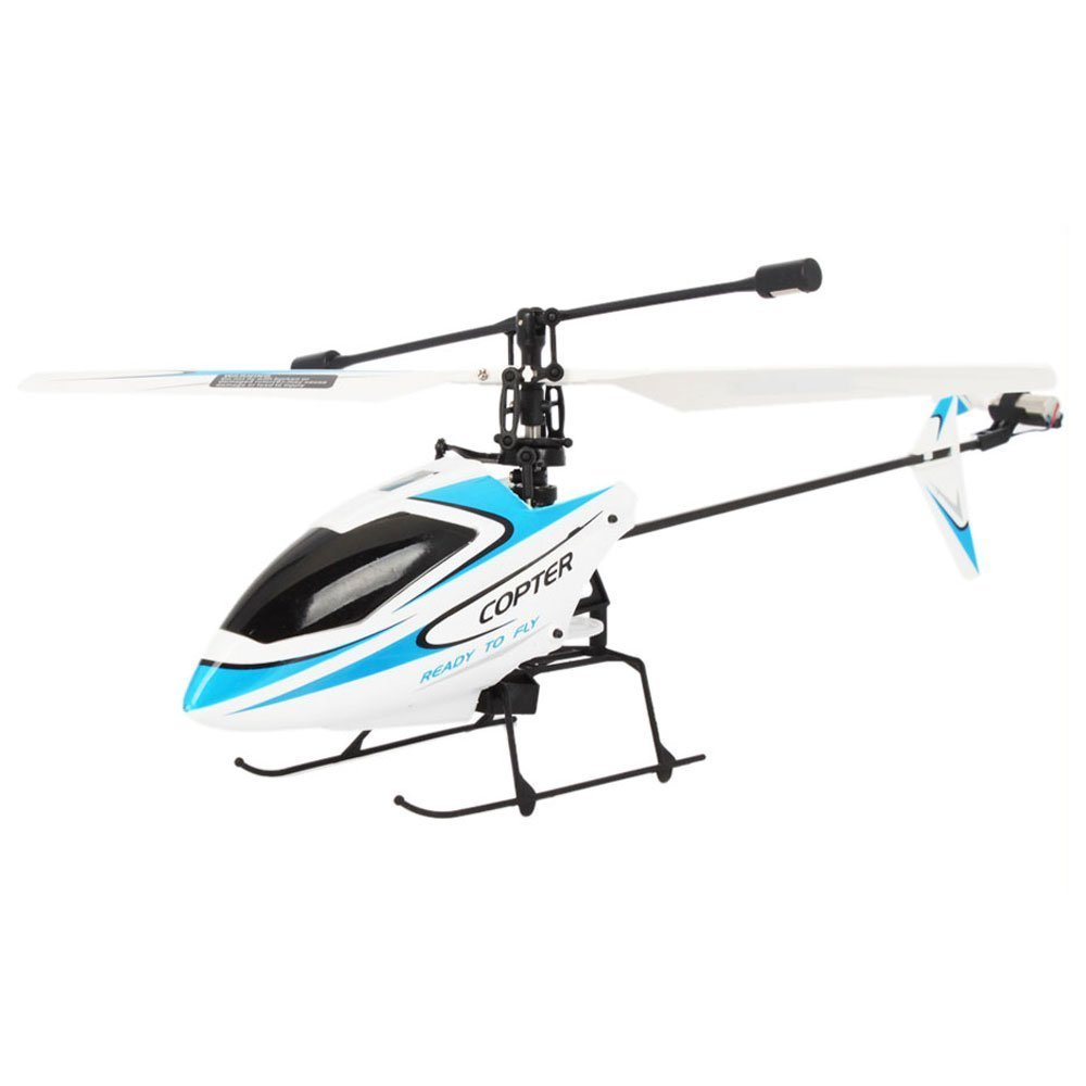 WL 4CH Mini Radio Single Propeller RC Helicopter review