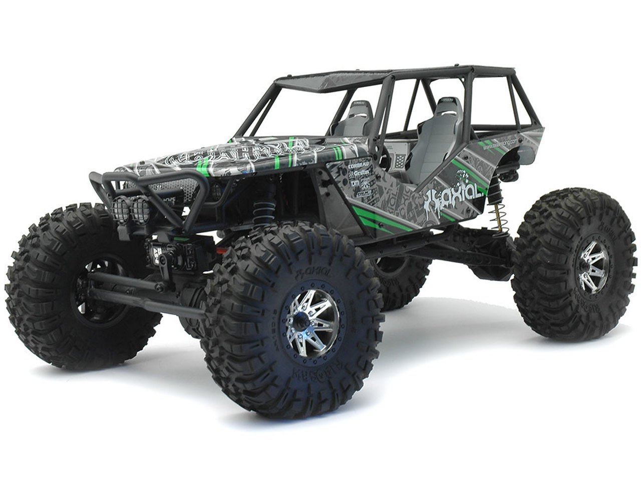 Axial Wraith 4WD RC Rock Racer Off-Road 4x4 Electric review