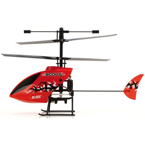 The Blade Scout RTF 3-Ch helicopter review