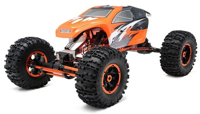 1/8Th Mad Torque Rock Crawler Ready to Run (Orange) review
