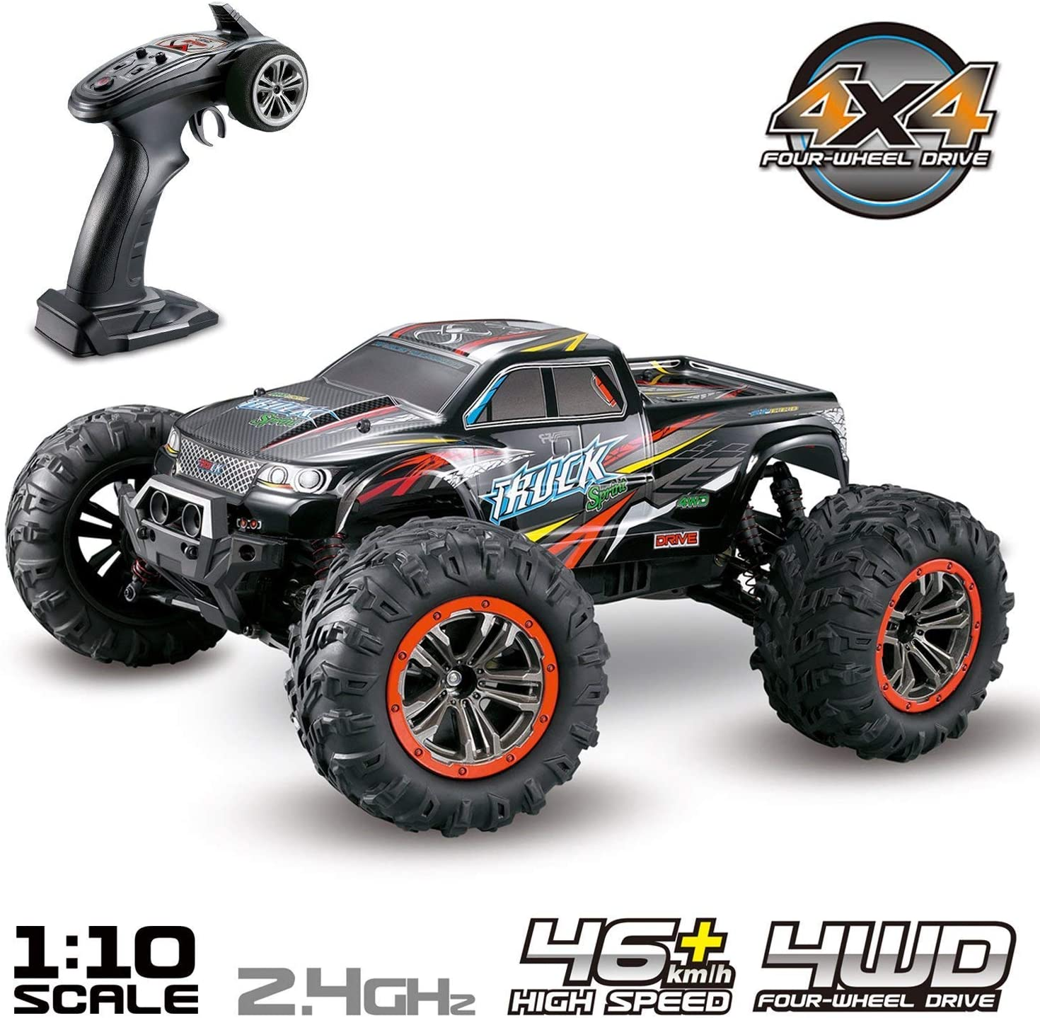 Hosim 9125 Remote Controlled Off-road RC Electric Monster Truck review