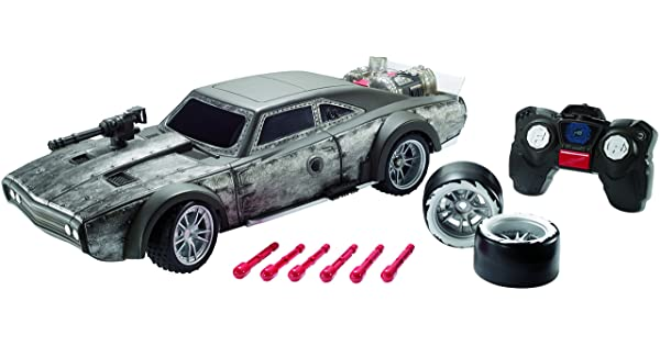 Mattel Fast & Furious Blast & Burn Ice Charger Vehicle review