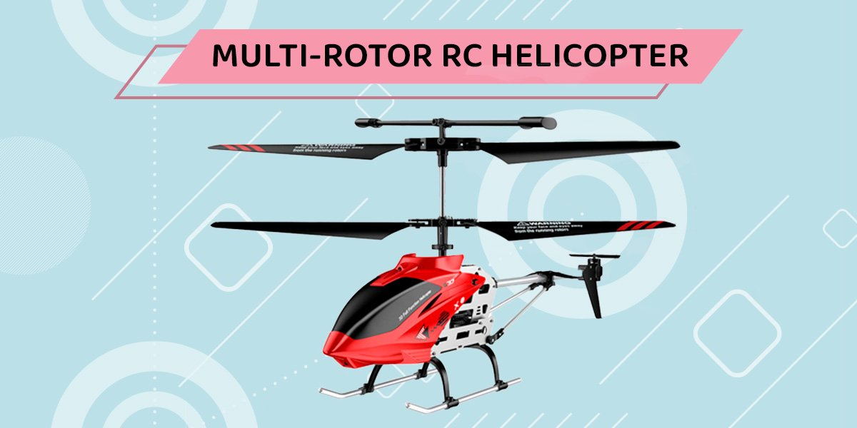 Multi rotor rc helicopter.