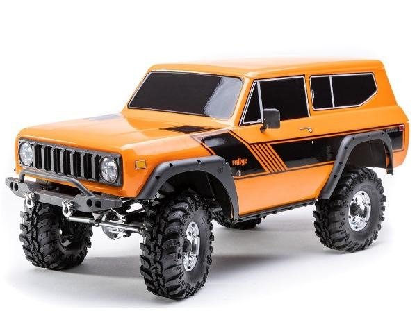 Redcat Racing Orange Gen8 Scout II Scale Rock Crawler review