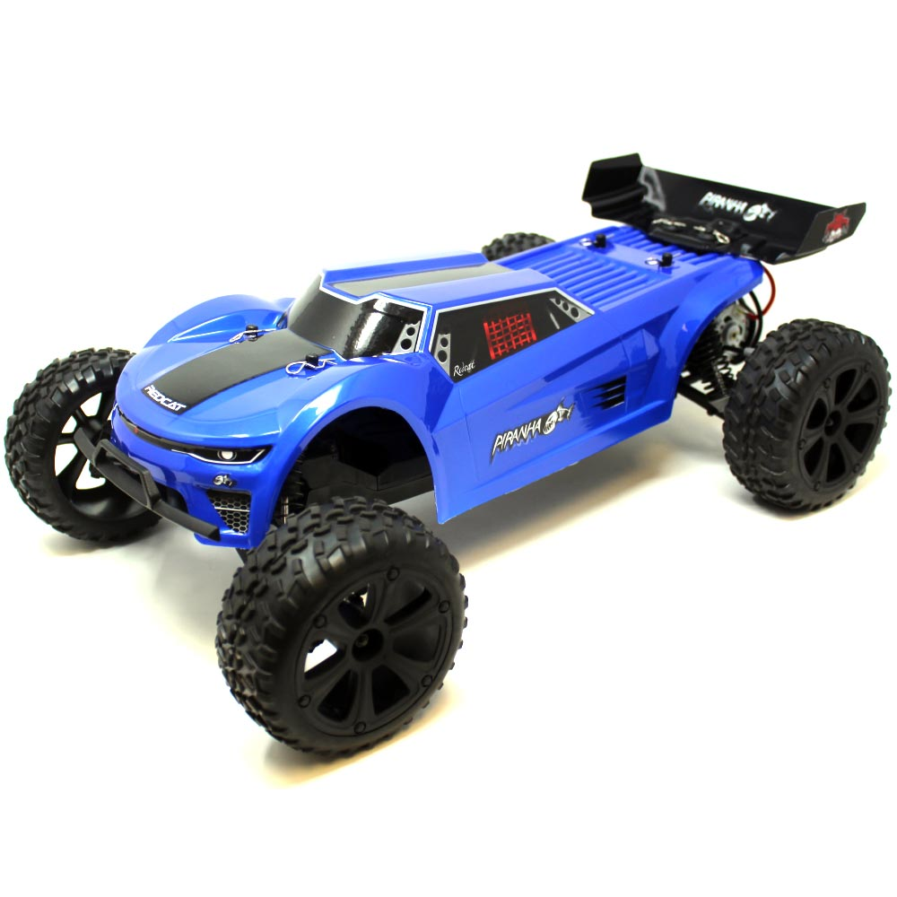 Redcat Racing Piranha-XTR-10 Piranha TR10 Truggy - Blue review