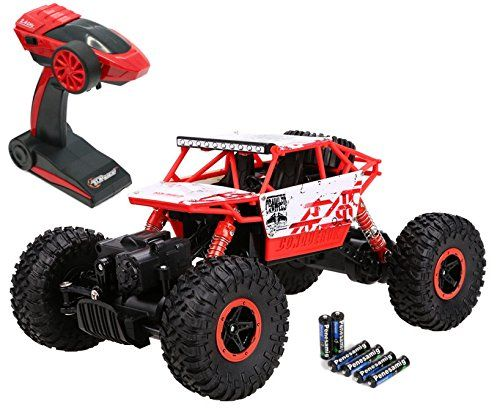 Top Race Remote Control Monster Truck RC Rock Crawler review